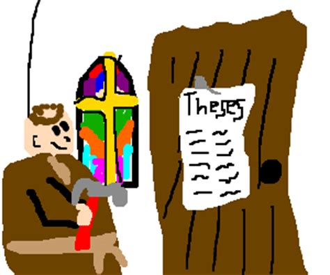 Martin Luther and the 95 Theses on the Power and Efficacy